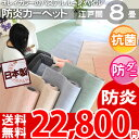 ..【SALE50】【送料無料】■綺麗なマーブルカラーの防炎カーペット 防ダニ 抗菌 ホットカーペット...