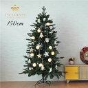 [5の付く日はエントリーでP12倍]クリスマスツリー 北欧 おしゃれ クリスマスツリー 北欧 おしゃれ 150cm PiceaAbies オーナメント LED