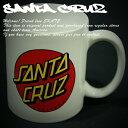 SANTA CRUZ マグカップ コップ 陶器 サンタクルーズ Classic Dot Coffee Mug スケボー SKATE SK8 スケートボード HARD CORE PUNK ハードコア パンク HIPHOP ヒップホップ SURF サーフ レゲエ reggae スノボー スノーボード Snowboard NINJA X
