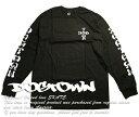 Dogtown Skateboards ロンT ロングTシャツ 長袖 ドッグタウン Cross Logo Long Sleeve T-Shirt スケボー SKATE SK8 スケートボード HARD CORE PUNK ハードコア パンク HIPHOP ヒップホップ SURF サーフ レゲエ reggae スノボー スノーボード Snowboard NINJA X