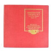 【Victor】ビクター BEETHOVEN/ベートーヴェン ピアノ協奏曲 第二番 変ロ長調 4枚組 レコード【中古】