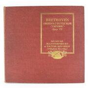 【Victor】ビクター BEETHOVEN/ベートーヴェン ピアノ協奏曲 第五番 変ホ長調 5枚組 レコード【中古】