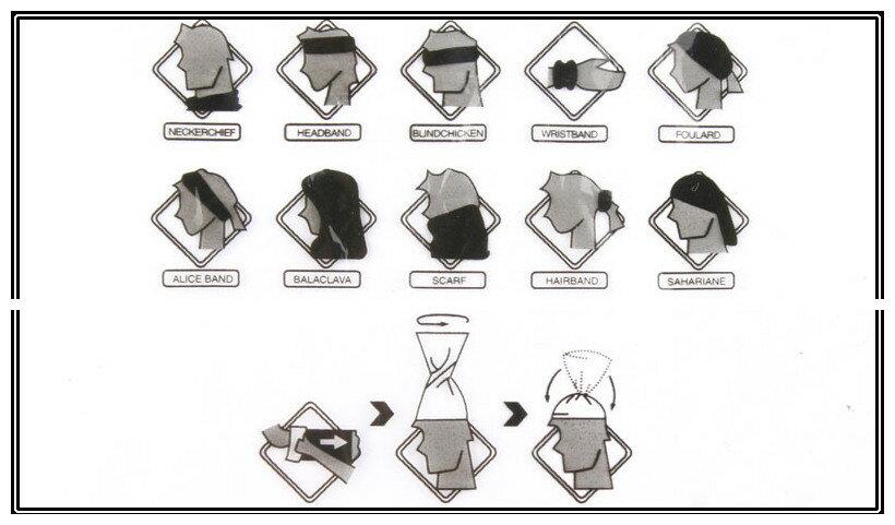 EMERSON製 急速乾燥 多目的スカーフ A...の紹介画像3