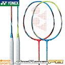 ヨネックス YONEX アークセイバーFB ARCSABER FB ARC-FB バドミントンラケット カラー レッド/ブルー(052)、ソニックブルー(627)