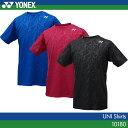 ヨネックス:YONEX シャツ 10180 UNISEX:男女兼用 ゲームウェア ゲームシャツバドミントン テニス バドミントンウェア・テニスウェア 日本バドミントン協会審査合格品 サイズ:SS,S,M,L,O,XO
