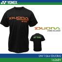 ヨネックス:YONEX デュオラTシャツ 16268Y UNISEX:男女兼用 ユニTシャツ バドミントン Tシャツ 【数量限定商品】