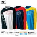 【2016年モデル】mizuno:ミズノ 長袖Tシャツ62JA6091 バドミントンウェア ロングスリーブTシャツ UNISEX:男女兼用