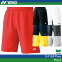 シルエットがカッコいいヨネックス:YONEX ハーフパンツ(スリムフィット) 15048 UNI:男女兼用 バドミントン・テニスウェア 日本バドミントン協会審査合格品
