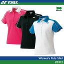 ヨネックス:YONEX ポロシャツ 20312 レディース 女性用 ゲームウェア ゲームシャツ バドミントン テニス バドミントンウェア テニスウェア サイズ:S,M,L,O,XO 日本バドミントン協会審査合格品