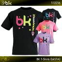 NEWカラー登場!!black knight:ブラックナイト BKTシャツ(bkSTA)T-12216  バドミントン Tシャツ  ネコポス送料無料!!(日時指定..