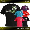 NEWカラー登場!!black knight:ブラックナイト BKTシャツ(bkEMB)T-12316  バドミントンTシャツ  ネコポス送料無料!!(日時指定・..
