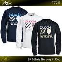 ブラックナイト:black knight BK Tシャツ(bkロング71AW)T-7221 ロングスリーブT
