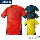 40%OFF!! ゴーセン GOSEN ゲームシャツ T1724 ユニ 男女兼用 ゲームウェア ゲームシャツ バドミントン テニス 日本バドミントン協会審査合格品 セール品につき、キャンセル・返品・交換はできません。