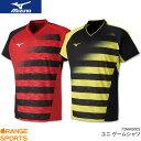 ミズノ MIZUNO ゲームシャツ 72MA8002 ユニ 男女兼用 ゲームウェア ユニフォーム バドミントン テニス 日本バドミントン協会審査合格品