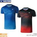 ビクター VICTOR ゲームシャツ T-90008 ユニ 男女兼用 ゲームウェア ユニフォーム バドミントン 日本バドミントン協会審査合格品 こちらの商品はご注文後のキャンセル・返品・交換はできません。