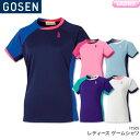 ゴーセン:GOSEN ゲームシャツ T1505 レディース ...