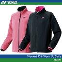 【40%OFF!!】 ヨネックス:YONEX ニットウォームアップシャツ 58070 レディース 女性用 トレーニングウェア バドミントン・テニスウェア ウォー...