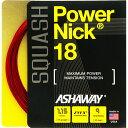 軟式牆網球 - スカッシュストリング、ガットASHAWAY:アッシャウェイパワーニック18Power NIck18