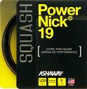 スカッシュストリング、ガットASHAWAY:アッシャウェイパワーニック19Power NIck19
