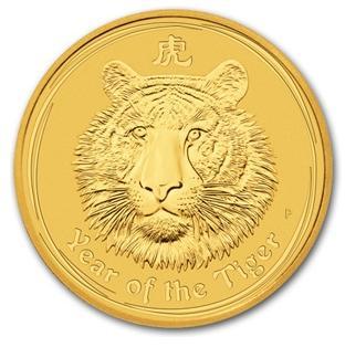 干支タイガー金貨 2オンス 2010年製 オーストラリアパース造幣局発行(Series 2)