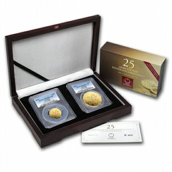 25周年 ウィーン金貨セット PR-70 DCAM PCGS