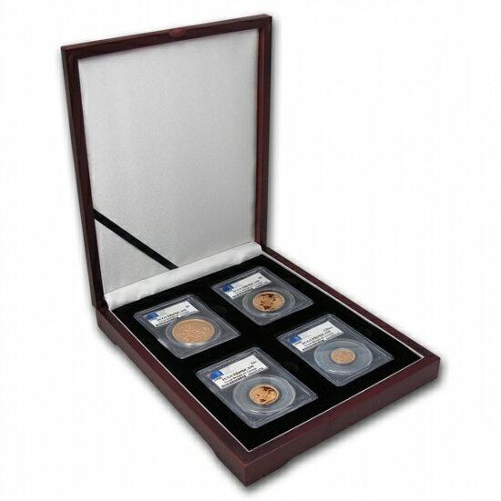 Great Britain 2006 Gold 4 Coin Sovereign Set PR-69 DCAM PCGS