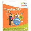 タイ プリペイドSIM販売!AIS 1-2 Call 3G TRAVELLER Simカード 299B版【データ定額と無料通話付き!】