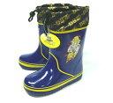 雨でも雪でも安心の長靴ドラゴンボール★ウレタン長靴★815★ネイビー16〜19cm