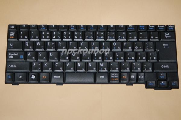 ■新品■NEC VersaPro VJ,VY26A/E-8、VY25A/E-8、VY18L/E-8キーボード/1☆ノートパソコンキーボード交換用☆