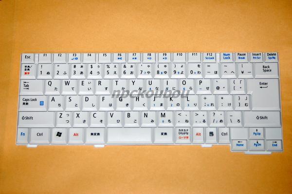 ■新品■ NEC LaVie LL770/VG , LL750/VG用キーボード 白/1☆ノートパソコンキーボード交換用☆