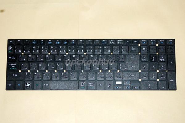 Acer Aspire E1-532,E1-572,E1-570,V3-571,V3-772G,V3-551G用キーボード