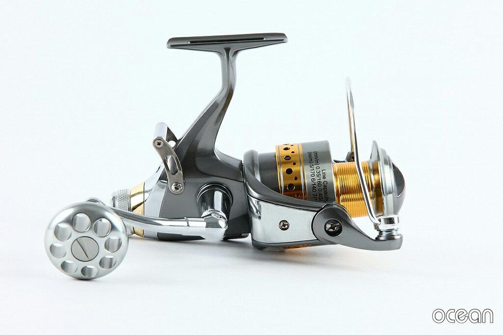 カープフィッシング鯉釣りBRクラッチ搭載高性能スピニングリールoceanS3D50(6BB+1)