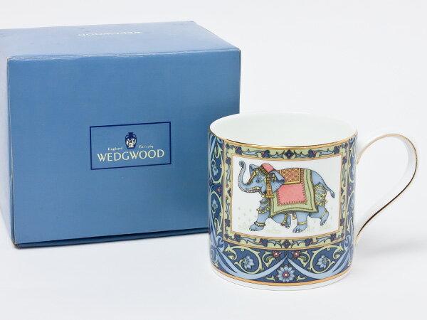 【送料無料】ウェッジウッド ブルーエレファント マグカップ wedg-59お茶のふじい・藤井茶舗