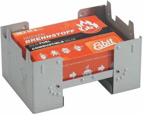 エスビット ポケットストーブ ラージ(固形燃料14g×12個付)
