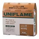 UNIFLAME(ユニフレーム) プレミアムガス(3本パック) 650042イソブタンとブタン 燃料 アウトドア ガス ウィンター アウトドアギア