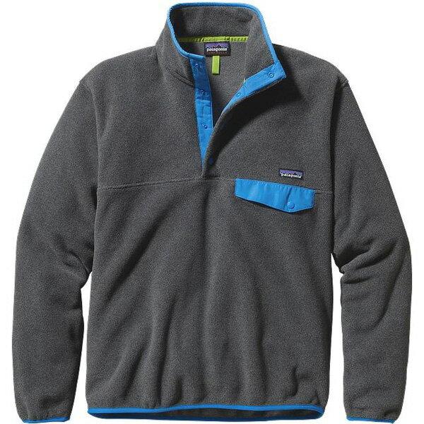 patagonia(パタゴニア) Ms LW Synch Snap-T P/O/NKEB/M 25580フリースジャケット ブルゾン ジャンパー フリースジャケット男性用 アウトドアウェア