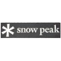 納期:2018年04月上旬snow peak(スノーピーク) スノーピークロゴステッカーアスタリスクS NV-006ステッカー(デカール) 外装パーツ カー用品 ステッカー ステッカー アウトドアギア