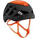 PETZL(ペツル)シロッコブラックオレンジM/LA073BA01ブラックヘルメットトレッキング登山アウトドアギア