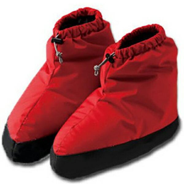 ISUKA(イスカ) ダウンプラス テントシューズ ショート/レッド 223219レッド 靴下 メンズウェア ウェア ウェアアクセサリー テントシューズ アウトドアウェア