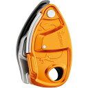 PETZL(ペツル) グリグリ+ オレンジ D13AAGアウトドアギア 確保器 ディッセンダー 登山 トレッキング ビレイ機 オレンジ
