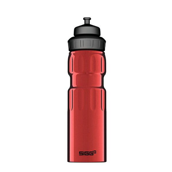 SIGG(シグ)ワイドマウススポーツ075Lレッド00070060マグボトル水筒水筒樹脂製ボトルアウ