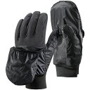 Black Diamond(ブラックダイヤモンド) ウィンドフードソフトシェル/スモーク/XL BD71014男女兼用 ブラック 手袋 メンズウェア ウェア ウェアアクセサリー 冬用グローブ アウトドアウェア