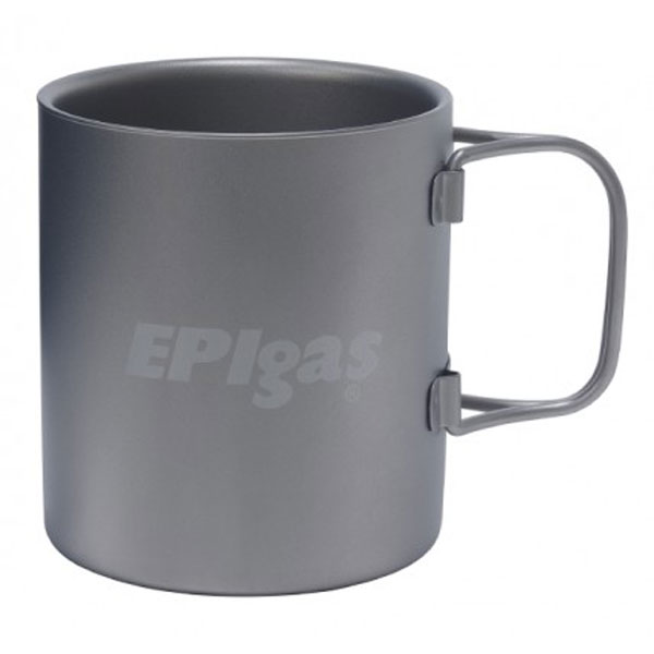 EPIgasダブルウォールチタンマグ T-8104