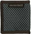 mont-bell(モンベル) コインワレット メッシュ/CH (1123773) [0018_1123773] アウトドアポーチ バッグ リュック 旅行用品 釣り ポーチ スポーツ ワレット・財布 ポーチ、小物バッグ アウトドアギア