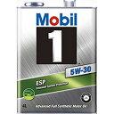 モービル モービル1 ESP フォーミュラ 5W-30 SN C2,C3 DL-1 化学合成油 4L×6 【送料無料】【代引不可】【時間指定不可】【smtb-F】