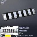 【セール10】【送料無料】EX208 スズキ ジムニー JIMNY JB23 フロントグリルカバー ガーニッシュ バンパーグリルトリム カスタムパーツ クロムメッキ ブラックメッシュ ABS ドレスアップ カーアクセサリー 外装 1PCS JIMNY