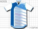 2013 クールスポーツ ベルマーレ ベース 白 フットサル サッカーユニフォーム
