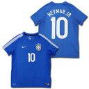 2013 ブラジル代表 #10 ネイマールJr. ジュニアサイズ アウェイ(青) NIKE
