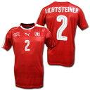 スイス代表 2016 ホーム(赤) # 2 LICHTSTEINER リヒトシュタイナー プーマ