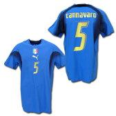 2007 イタリア代表 選手用 ホーム/四星 #5 CANNAVARO ファビオ・カンナヴァーロ プーマ製